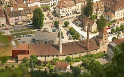 La Grande Saline et le Musée du Sel – Salins-les-Bains (Jura)
