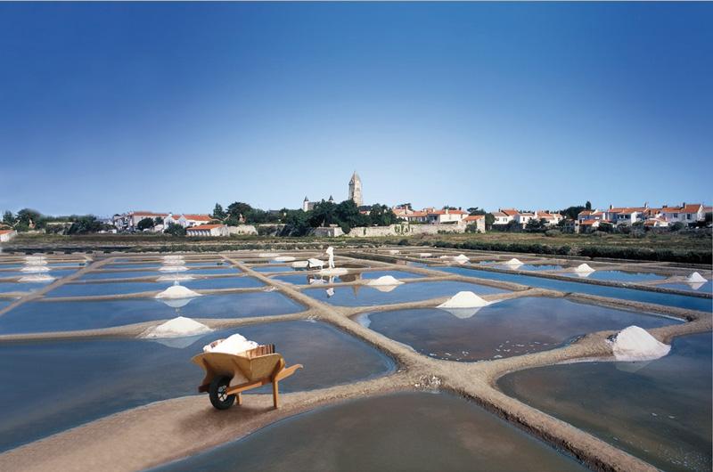 Coopérative des producteurs de sel à Noirmoutier